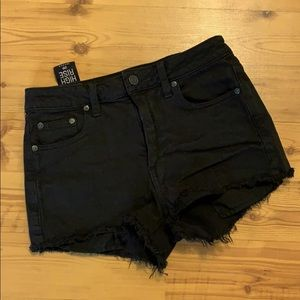 The Perfect High Rise Black Shorts